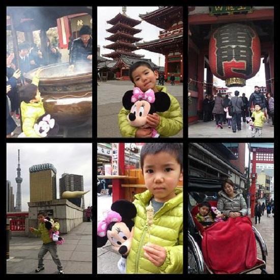 東京旅行(浅草)