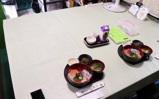 海鮮丼ランチ「保田鮮魚店」