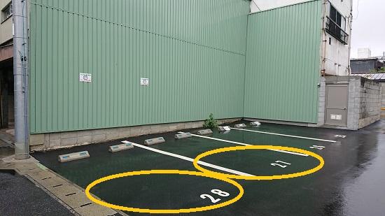 ひつじの学校駐車場