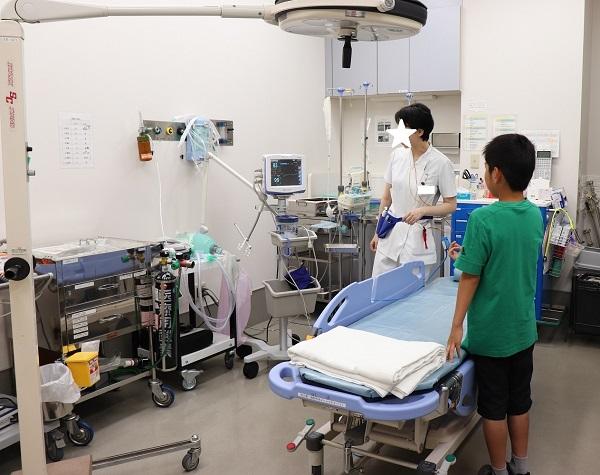 救急搬送室