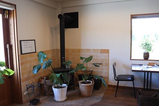 cafe Mugi(カフェ麦)の店内
