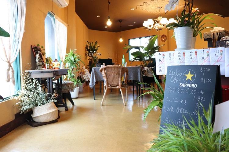 LUSSO CAFE(ルッソカフェ)店内