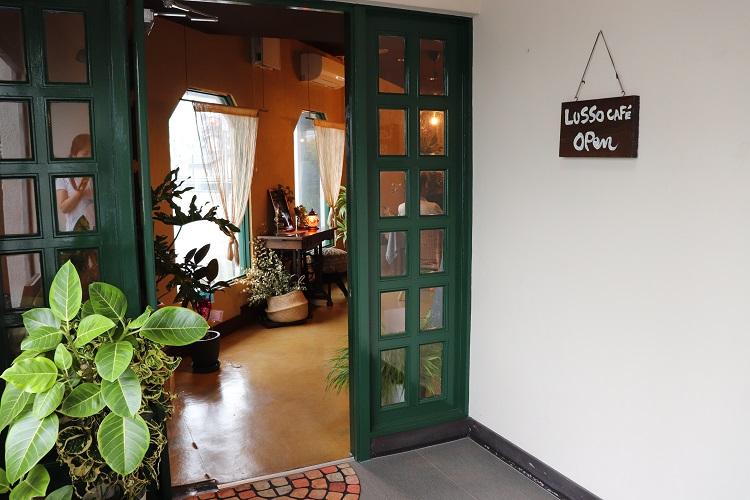 LUSSO CAFE(ルッソカフェ)外観