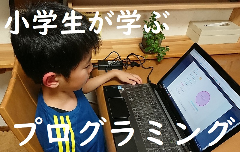 小学生が学ぶプログラミング