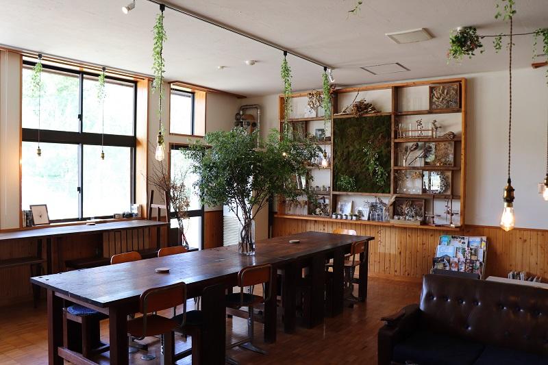森ノナカノカフェ店内
