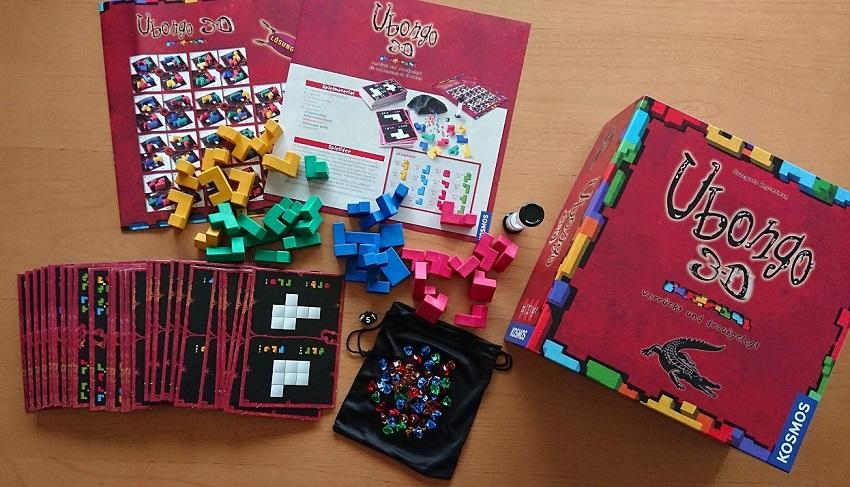 脳トレボードゲーム「ウボンゴ(ubongo)3D