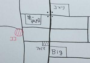 マイガレージムラカミの地図