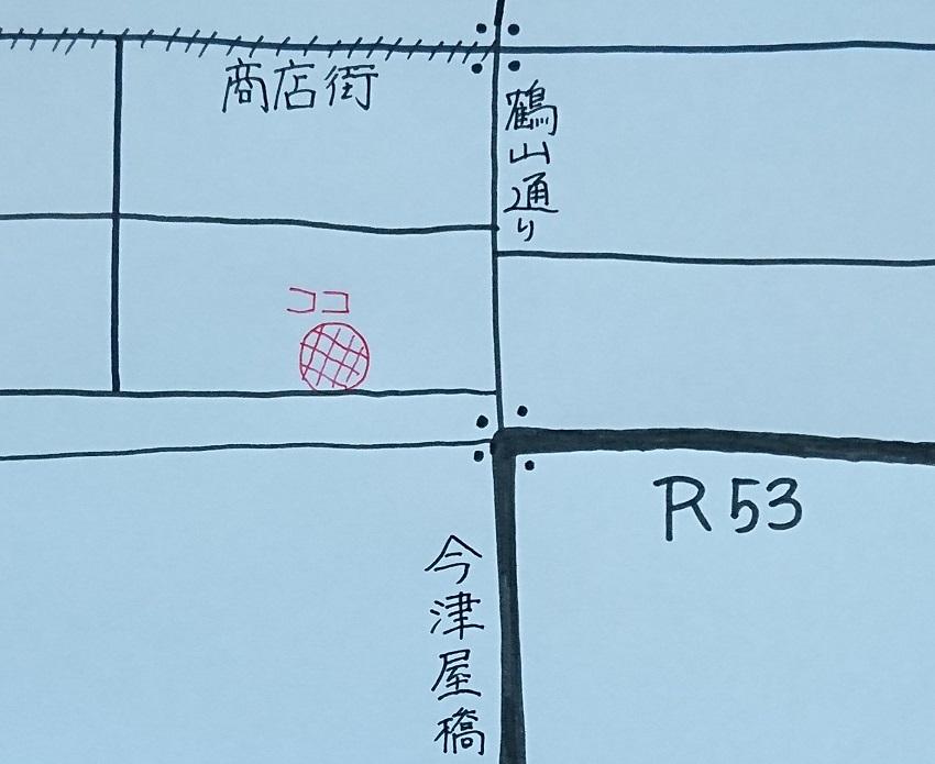 ビストロカカシ(BISTRO CACASHI)地図