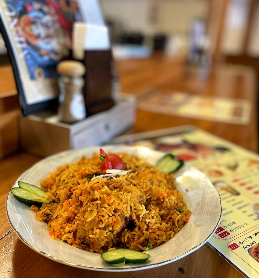 インド料理レストラン「MURLI(ムルリ)」ビリヤニ