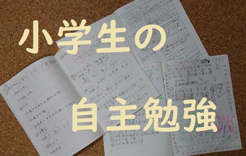 小学生のおすすめ自主勉強教材