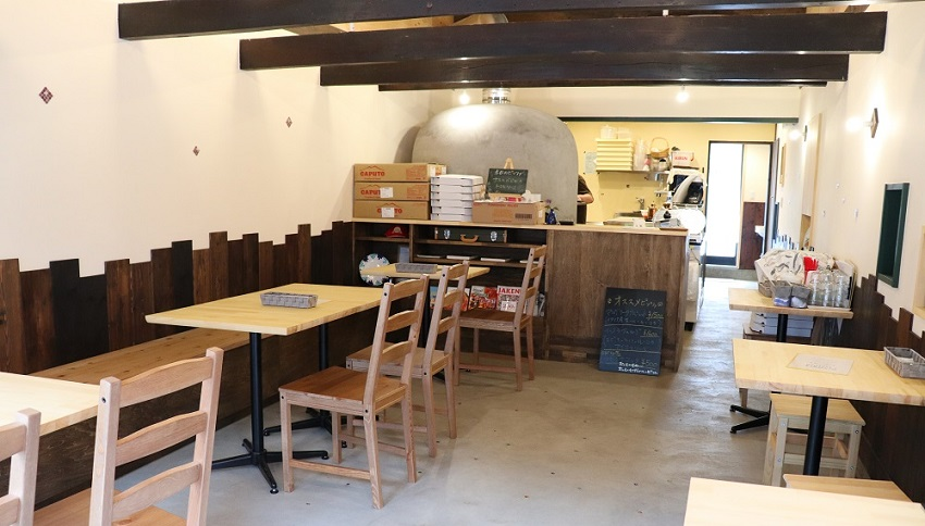 Pizzeria ORSO(ピッツェリア オルソ)店内