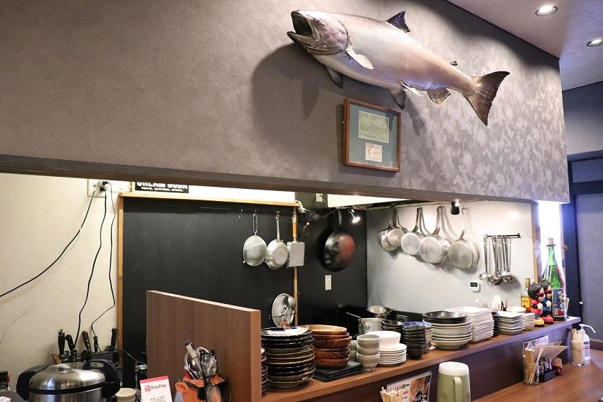 お食事とお酒MAZUME(マヅメ)店内