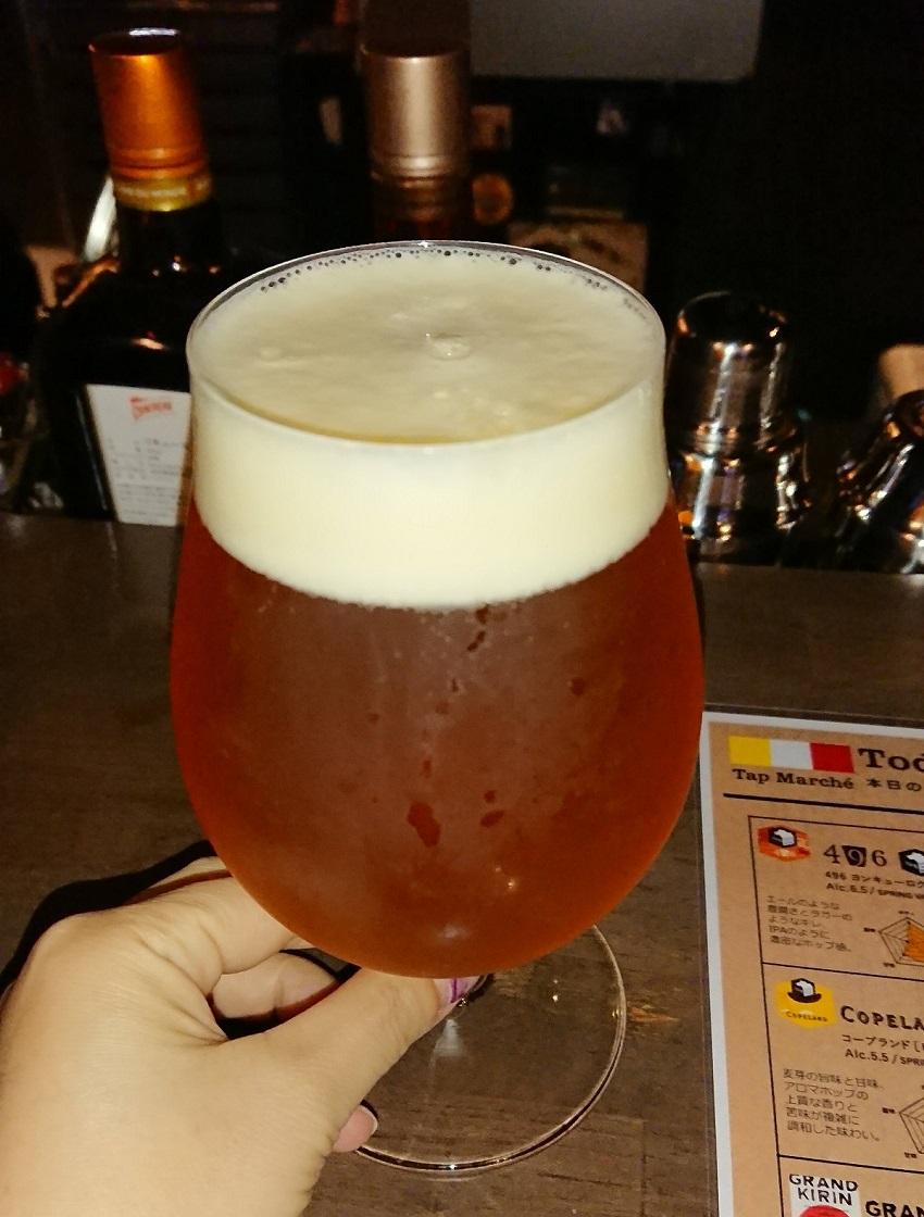 「Bar hellcat」クラフトビール