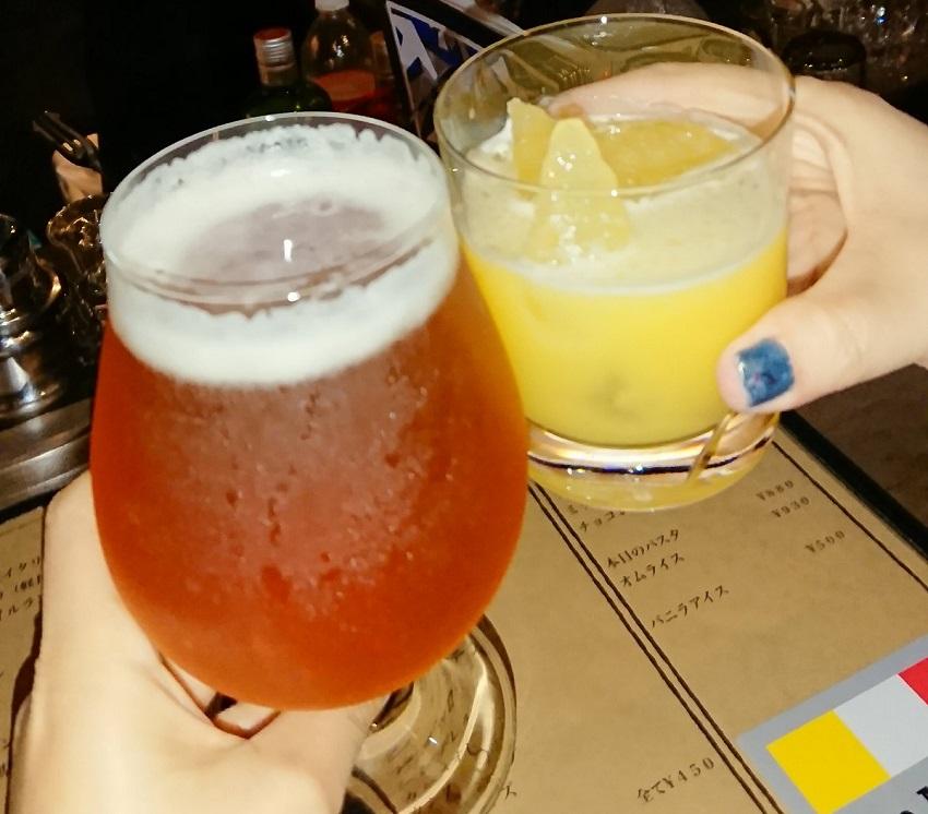 「Bar hellcat」乾杯