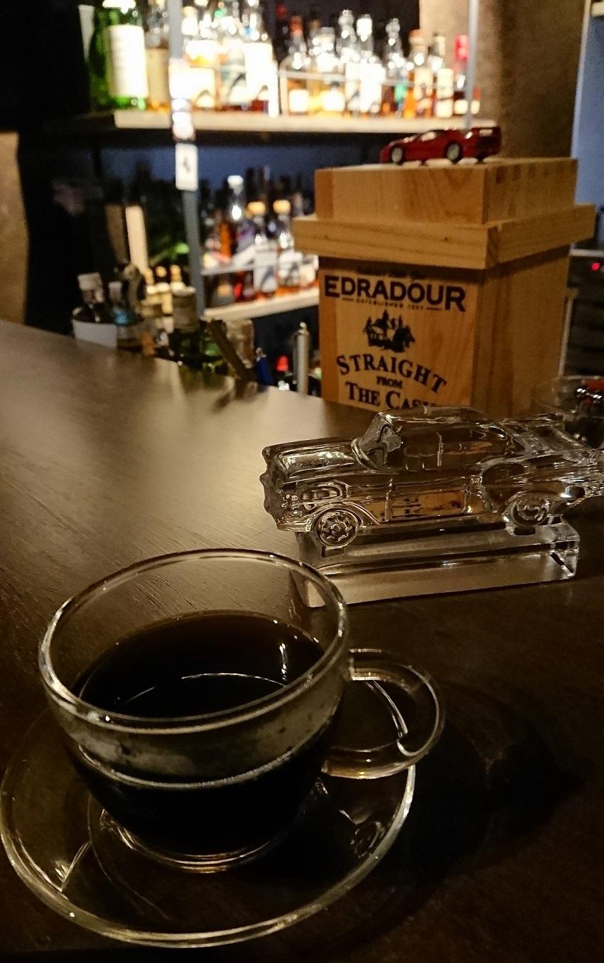 「Bar hellcat」コーヒー