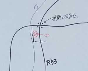 「山のブラン」地図