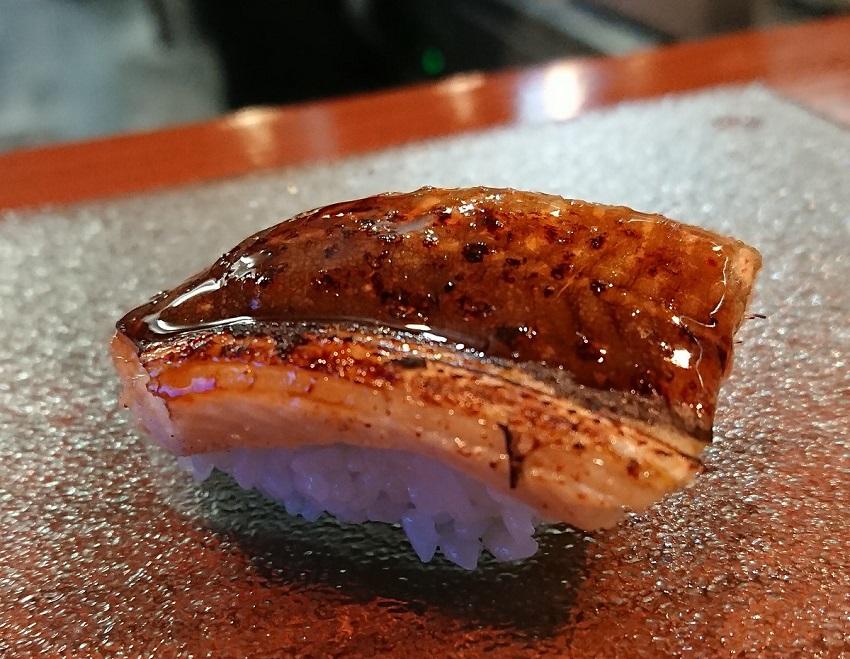 和食バル&鮨「料理屋 山崎」あなご鮨