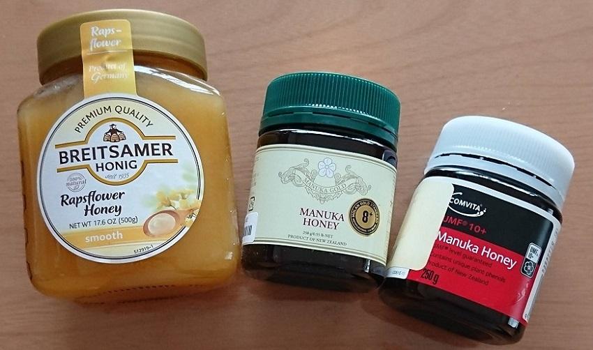 マヌカハニーとハチミツ