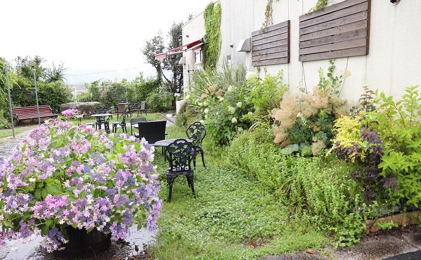 イタリアンジェラート「LATTE(ラッテ)」ガーデン