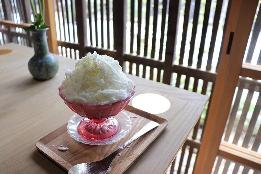 和カフェ「あんこや ぺ」かき氷