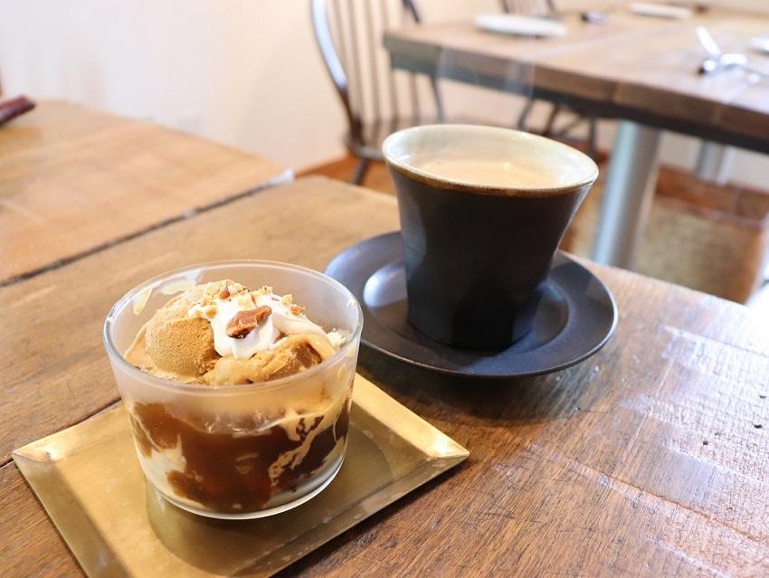 「山のブラン」珈琲パフェ