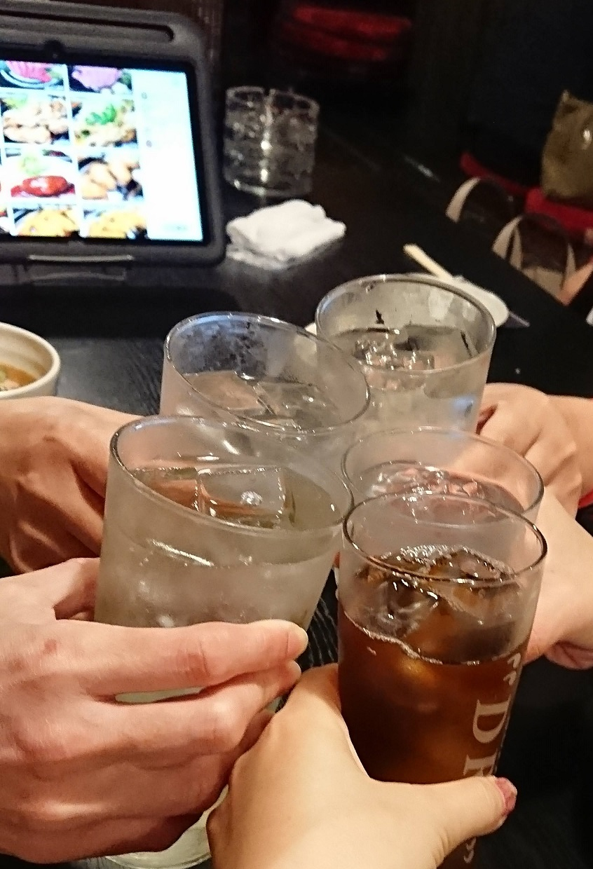 居酒屋上屋(かみや)タッチパネル