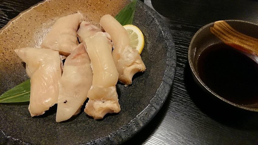 居酒屋上屋(かみや)豚足
