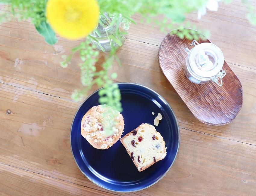 cafe calme(カフェカルム)のマフィンとパウンドケーキ