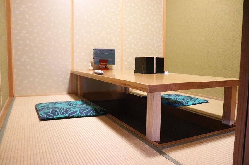 新日本料理ランチ「古楽(こらく)」個室