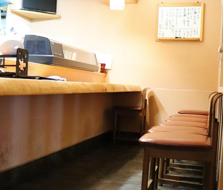 新日本料理ランチ「古楽(こらく)」カウンター