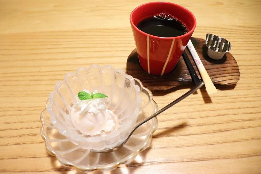 新日本料理ランチ「古楽(こらく)」デザート
