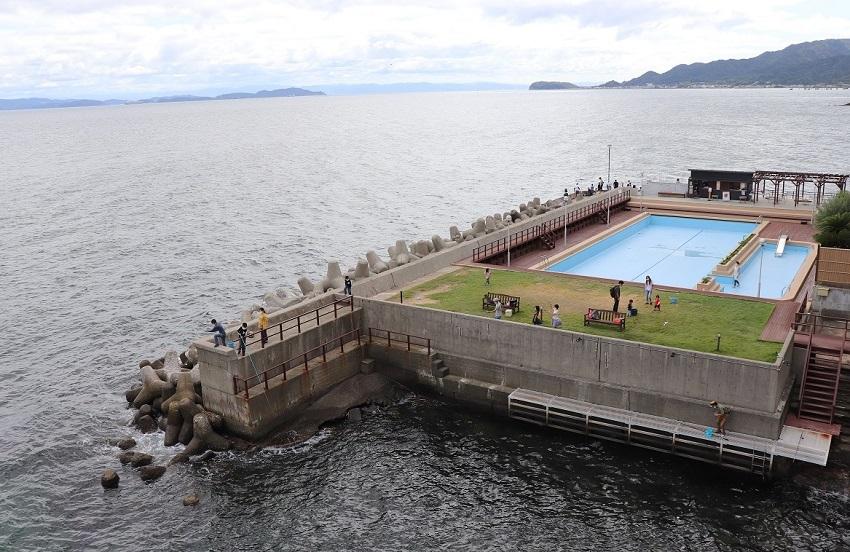 淡路島観光ホテルプライベート釣り場