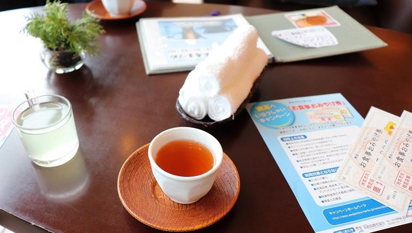 淡路島観光ホテルのロビー