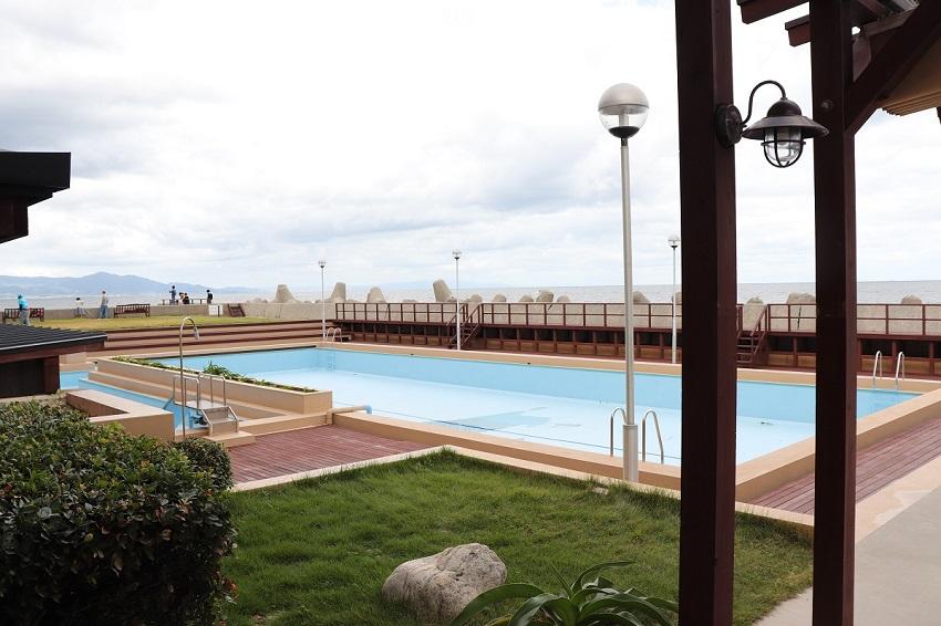 淡路島観光ホテルのプール