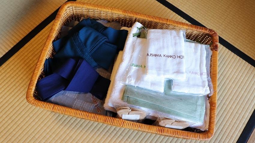 淡路島観光ホテルのアメニティ