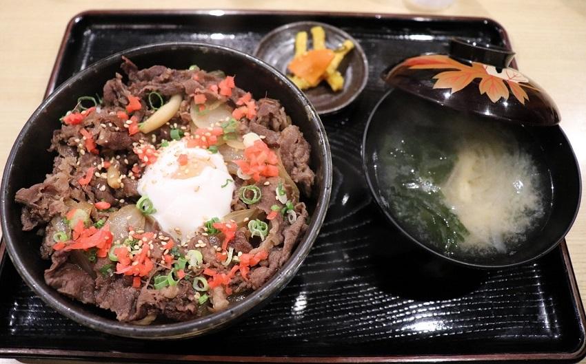淡路島観光ホテルのグルメあわじ牛丼