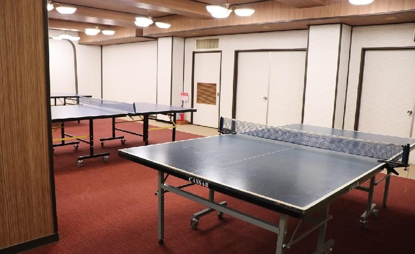 淡路島観光ホテルの卓球部屋