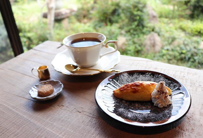 CAFEいきもの舎デザート(スイートポテト)