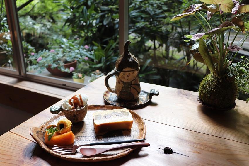 滝の茶やケーキデザートセット