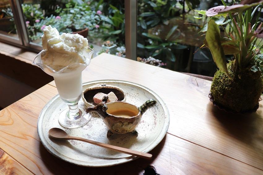 滝の茶やアフォガード