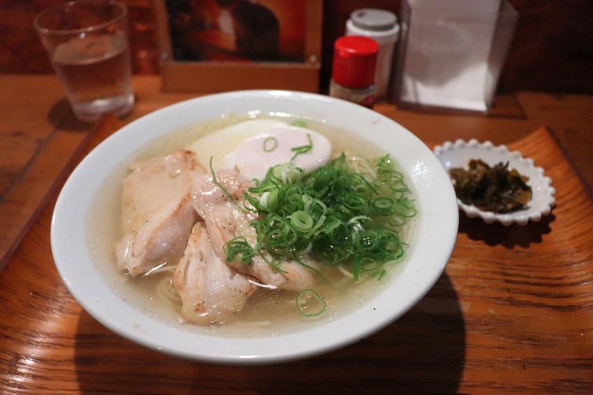 KEN工房究極の塩スープ麺