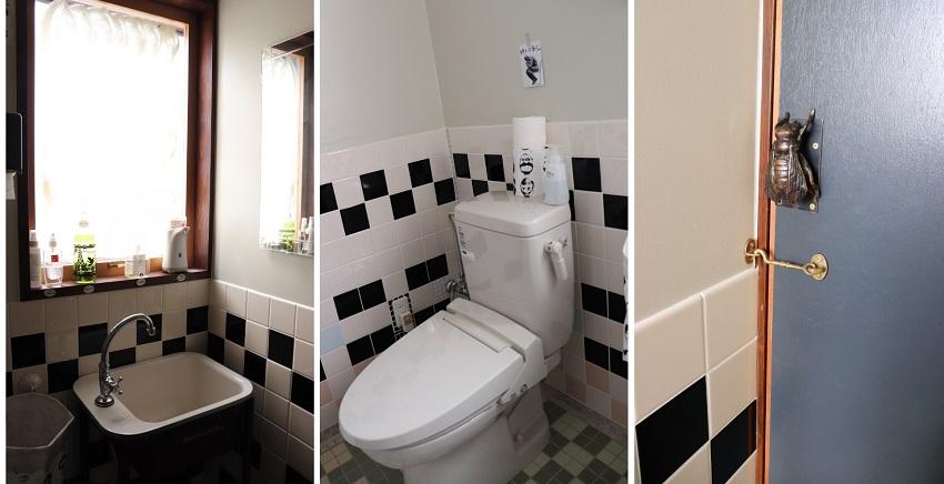 萬來屋のトイレ
