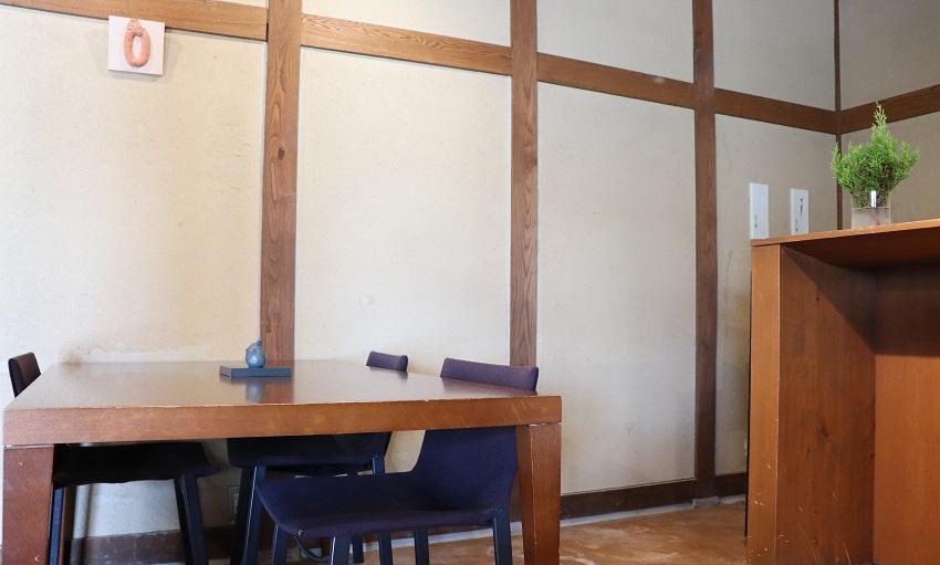 勝山文化往来館カフェ・ギャラリー「ひしお」