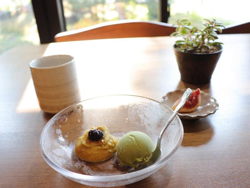 古民家カフェ「カスミハミ」デザート