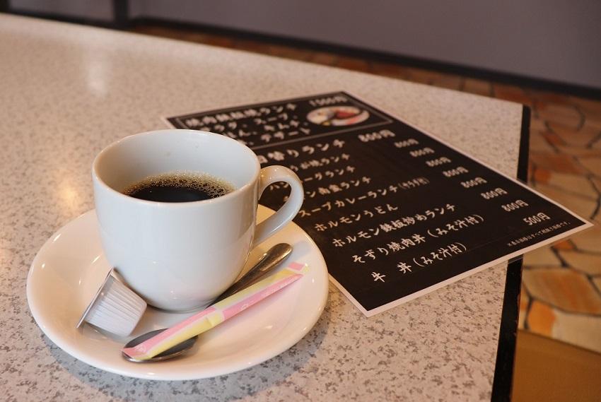 作州牛焼肉ランチ「しん」山本精肉店食後のコーヒー