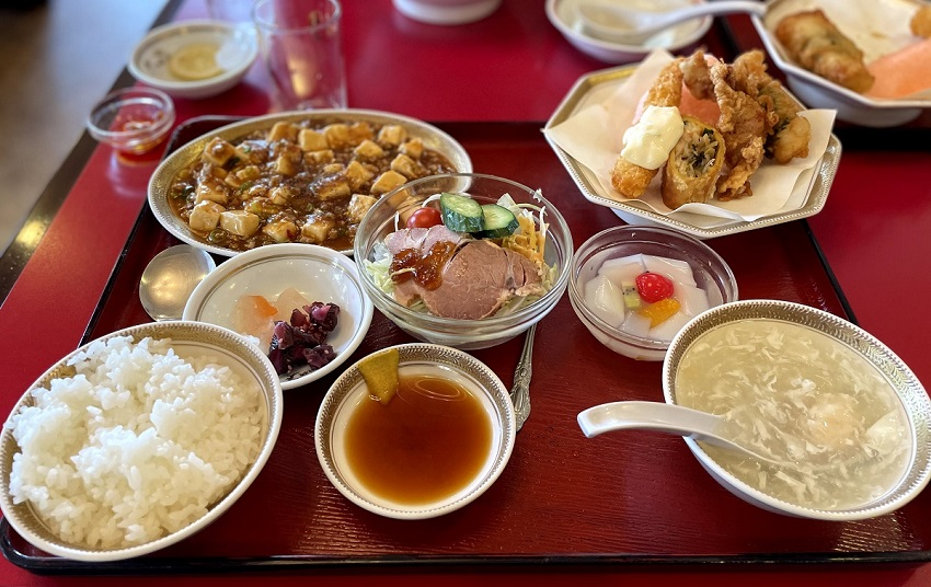 中華料理 満州楼(まんしゅうろう)麻婆豆腐定食