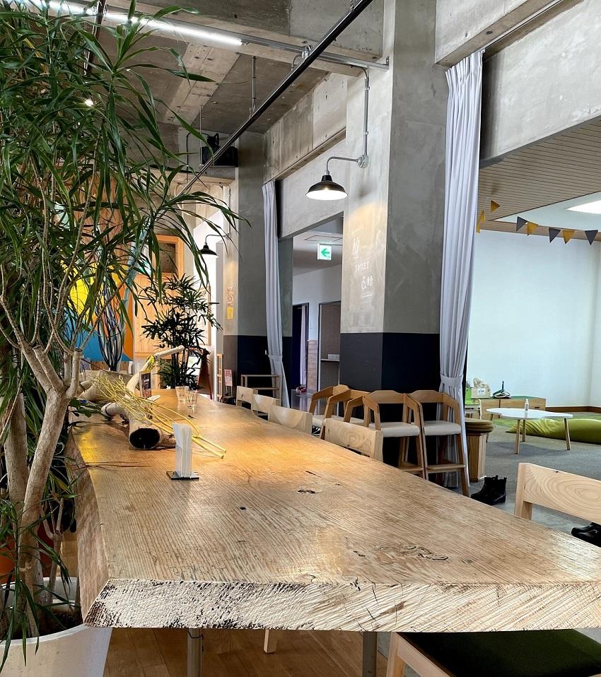 Cafe&Dining San(カフェ&ダイニング サン)店内