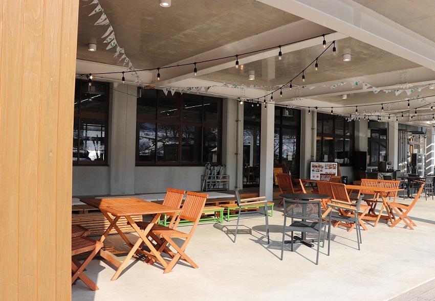 Cafe&Dining San(カフェ&ダイニング サン)テラス席