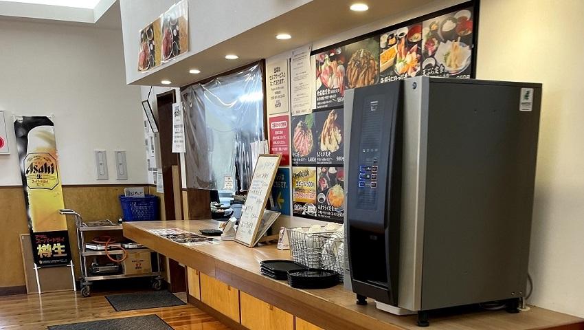 「賀露港 市場食堂」海鮮丼ランチ