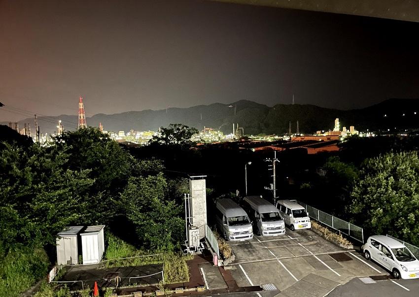 倉敷シーサイドホテル夜景